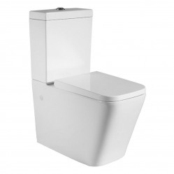 Bourne cuadro wall faced toilet suite