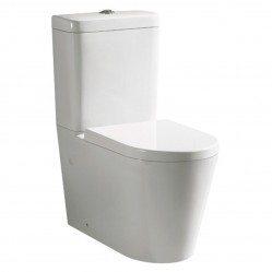 Bourne Cylindro wall faced toilet suite