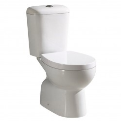Bourne star wash down toilet suite