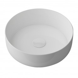 Timberline Above Counter Aullure Basin Matte White