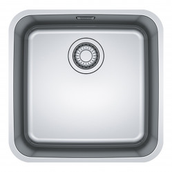 Franke bell single bowl undermount sink