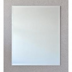ablaze Contractor 600x750mm Bevel Edge Mirror with Hangers and Demister