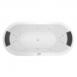 Decina Caval 1800mm Contour 14-Jet Spa Bath