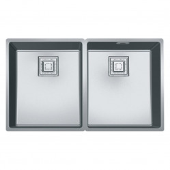 Franke Centinox double bowl Stainless Steel sink