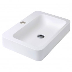 Fienza Rondo 600 Solid Surface Basin 1 taphole