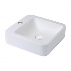 Fienza Rondo 400 Solid Surface Basin 1 taphole