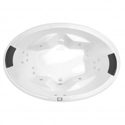 Decina Duo 1850mm Contour 16-Jet Spa Bath