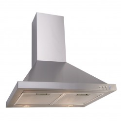 Euro 60cm Stainless Steel Canopy