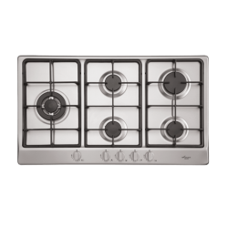 Euro Gas Cooktop + Left Side Wok Burner