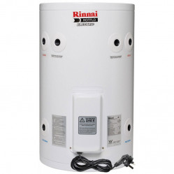 Rinnai HotFlo 50L 2.4kW Electric Hot Water Storage Tank With Plug