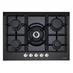 Euro 5 Burner Gas Cooktop 70cm