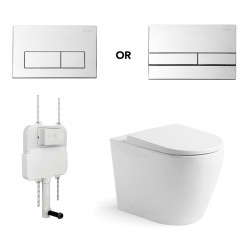 Argent VISTA HYGIENIC FLUSH WALL FACED PACKAGE
