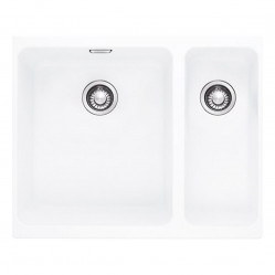 Franke Kubus Fragranite Polar White 1 & 1/2 Bowl Sink