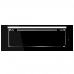 SCHWEIGEN IN. Silent Glass Undermount Rangehood Black