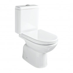Argent Mode Close Coupled Toilet S Trap Rear Entry