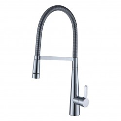 IKON RAJRO GOOSENECK PULL DOWN SINK MIXER WITH LED