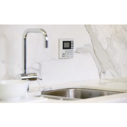 RINNAI DELUXE KITCHEN WATER CONTROLLER WHITE Rinnai Deluxe Kitchen Water Controller White