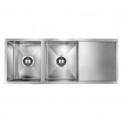 Bourne Sagi double bowl sink with drainer 1150