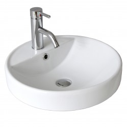 seima NIMOS Ceramic inset above counter basin, round