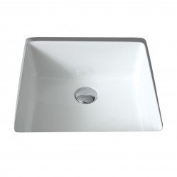 seima kyra Ceramic under counter basin, square