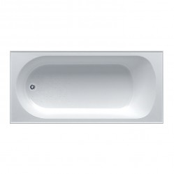 SEIMA TONDO INSET BATH 1525MM with overflow