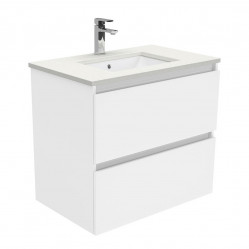 Fienza Sarah Crystal Pure Undermount 750 Quest Wall-Hung Vanity