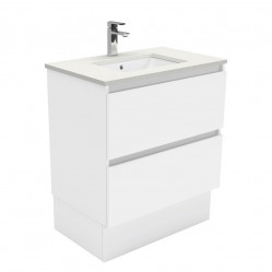 Fienza Sarah Crystal Pure Undermount 750 Quest Vanity on Kick