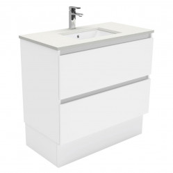 Fienza Sarah Crystal Pure Undermount 900 Quest Vanity on Kick