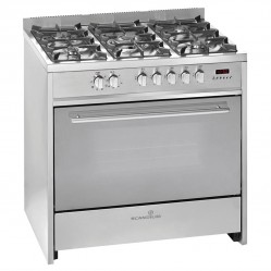 Scandium STAINLESS STEEL UPRIGHT COOKER GAS-ELECTRIC 90CM
