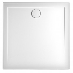 MARBLETREND FLINDERS SMC SQUARE SHOWER BASE 900MM X 900MM REAR OUTLET