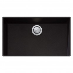 Oliveri Santorini Black Mega Bowl Undermount Sink