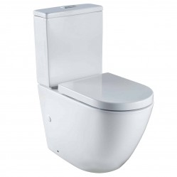 SEIMA ARKO TOILET WITH CLASSIC SEAT BACK INLET
