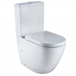 SEIMA ARKO TOILET WITH DELUXE SEAT BOTTOM INLET