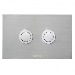 SEIMA 200 SERIES FLUSH BUTTON - stainless steel
