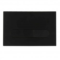 SEIMA 500 SERIES FLUSH BUTTON MATTE BLACK