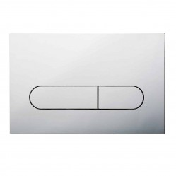 SEIMA 500 SERIES FLUSH BUTTON CHROME