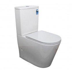 Bourne Caspian rimless BTW toilet suite