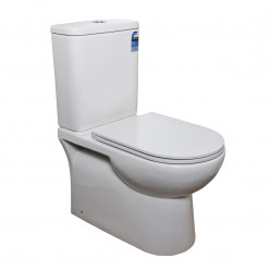 Bourne Cove rimless BTW toilet suite