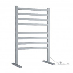 Thermorail Free Standing Straight/Square 590x900x355mm 119Watts 8 Bars