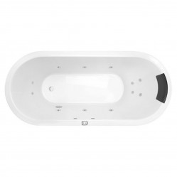 Decina Uno 1700mm Contour 16-Jet Spa Bath
