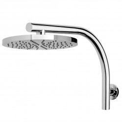 PHOENIX RUSH SHOWER ARM & ROUND ROSE HEAD Chrome