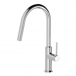 Phoenix VIVID SLIMLINE PULL OUT SINK MIXER CHROME