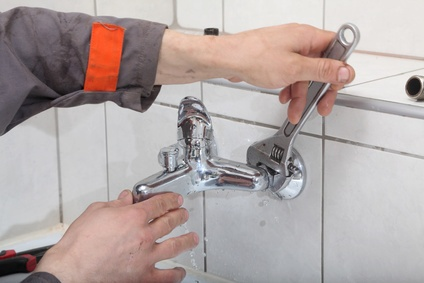 Replacing taps the easy way