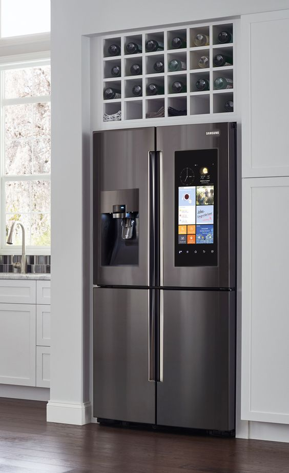 Smart kitchens with smart appliances